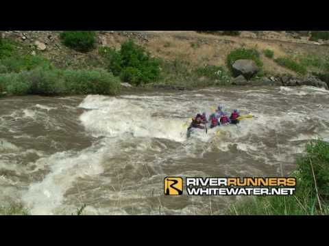 Colorado Springs Colorado whitewater rafting trip on the Arkansas River