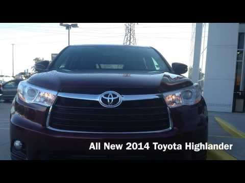 The All New 2014 Toyota Highlander at Toyota of Plano Proud to Serve Dallas/Fort Worth, TX!