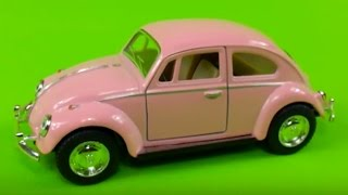 Volkswagen Beetly Toy Car Pink Show