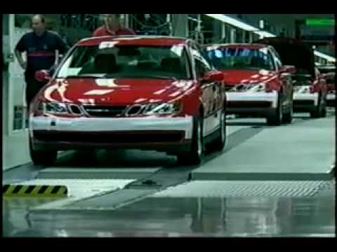 Saab 93 production Video