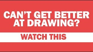 Can't Draw Better? Are you Stuck? - Art Advice - Easy Drawing for Beginners and Kids Step by Step