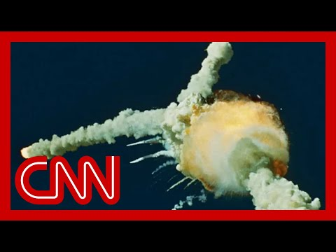 Cnn Challenger Disaster Live On Cnn Youtube