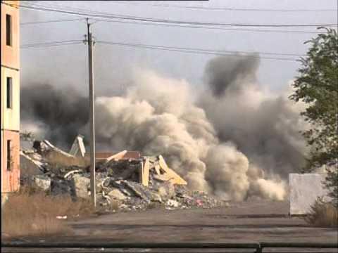 Ликвидация нежилых домов в г. Шахтинске