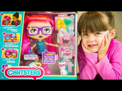 Chatsters Gabby Interactive Toy Doll Review by Kinder Playtime