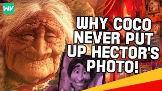 Download Lagu Pixar Theory: Why Mama Coco Never Put Up Hector's Photo (Her Backstory) | Discovering Disney Gratis STAFABAND