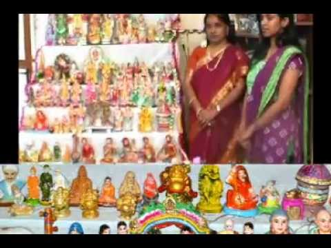 Navarathri Kolu 2012 At  Our Home ,karaikudi.-- By Selvarani Selvam. video