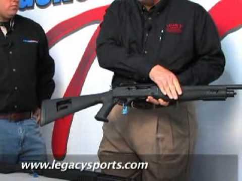 GunsAmerica TV SHOTSHOW 2010 Legacy Sports Escort Shotguns