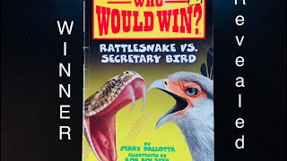 Who Would Win? Rattlesnake vs Secretary Bird WINNER REVEALED! Every Page shown!