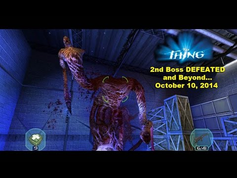 The Thing (2002) (PC) Game - Walkthrough - 2nd BOSS - 10-10-14