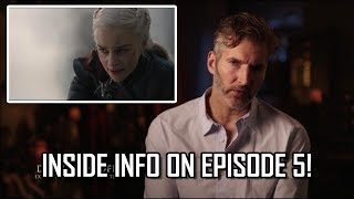 D&D Inside The Episode - Game of Thrones Season 8 Episode 5 (The Bells)
