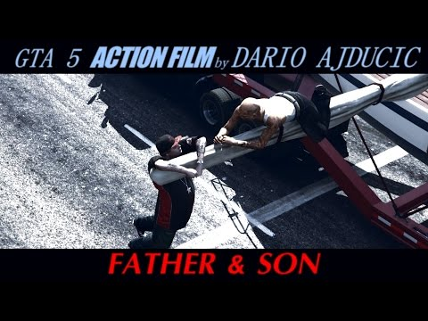 GTA 5 - FATHER & SON | Action Movie
