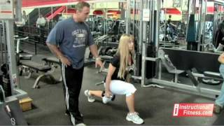 Instructional Fitness - Dumbbell Lunges