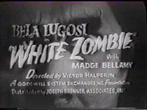 WHITE ZOMBIE 1932 Bela Lugosi, Madge Bellamy.. Classic Horror Film posters and trailer