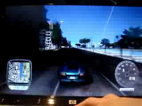 Lamborghini Murcielago speeding(TDU)