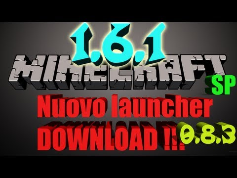 [ TUTORIAL ] Download MinecraftSP 1.6.2 NUOVO LAUNCHER SENZA PREMIUM !!!