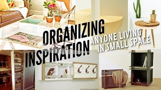 22 Useful Organizing Inspiration for Anyone Living in a Small Space