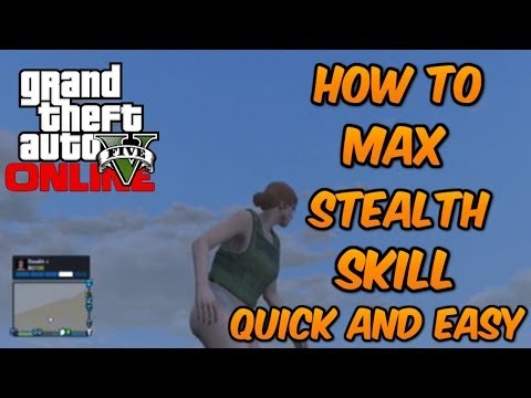 how to get stealth up in gta online