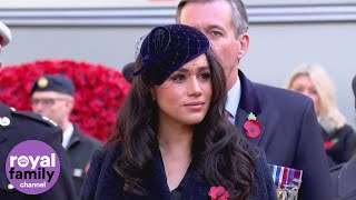 Duke and Duchess of Sussex visit Westminster Abbey's Field of Remembrance