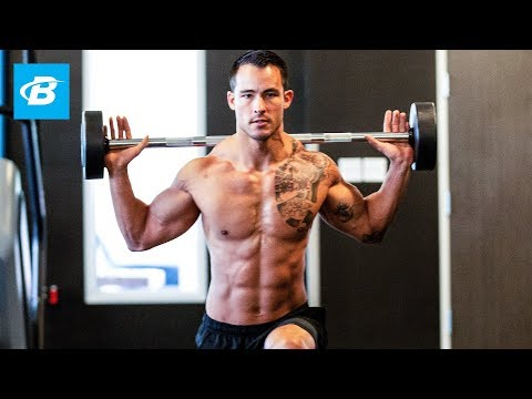 Sean Sarantos' Full-Body 5-Move Super-Shred Circuit - Bodybuilding.com