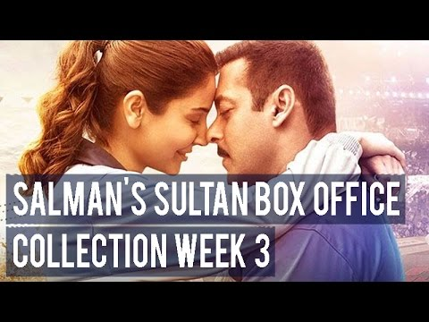 Salman Khan's Sultan box office collection week 3