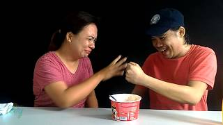 Our Samyang 2x Spicy Noodles challenge -  MommyLevy