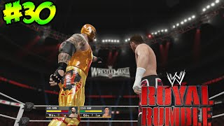 WWE 2K16 - Royal Rumble - Solo uno ira a Wrestlemania, Atacamos al Campeon