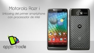 Motorola Razr i el primer mvil con procesador intel
