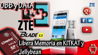 Obb y Data en SD Kitkat | Tutorial en español por Hitman 2016 |