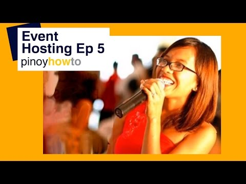 Event Hosting - Emceeing in the Philippines Episode 5