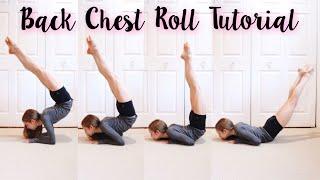 How to do a Back Chest Roll