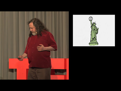 Free software, free society: Richard Stallman at TEDxGeneva 2014