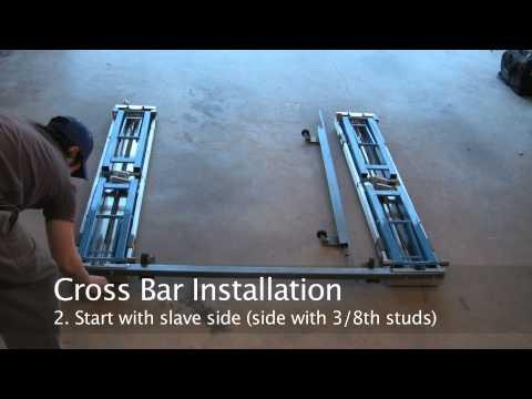Portable Car Lift Unboxing & Review Part 1 - EZCarlift
