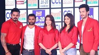 Actor Akhil talks about Telugu warriors at CCL press meet