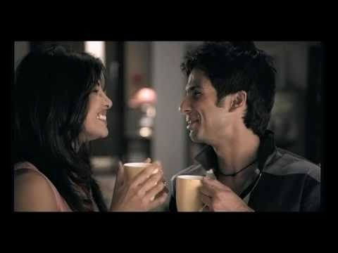 Bru lite coffee commercial - Shahid Kapoor and Priyanka Chopra