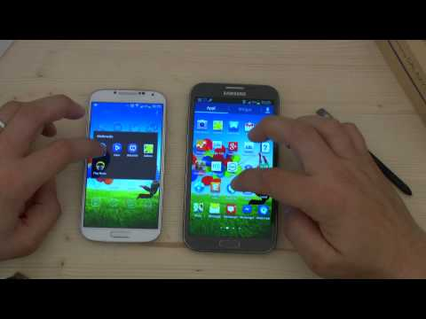 Galaxy s4 vs Note 2 in un video confronto by HDblog