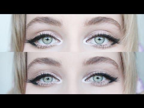 Enlarging Cat Eye Makeup For