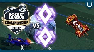 1 RLCS Pro vs 2 YouTubers | FluumpLessKhan vs Lethamyr