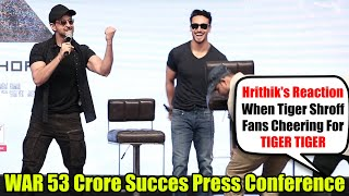 War Success Press Meet | First Day 53 Crore Collection | Hrithik Roshan, Tiger Shroff, Vani Kapoor