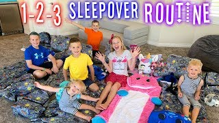 Best Ever Sleepover Routine!!