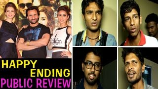 Happy Ending PUBLIC REVIEW | Saif Ali Khan, Ileana DCruz, Govinda | Illuminati Films