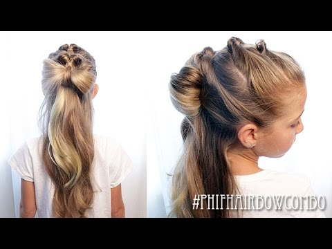 How To: Pull Through Pony/ HairBow Combo | Pretty Hair is Fun