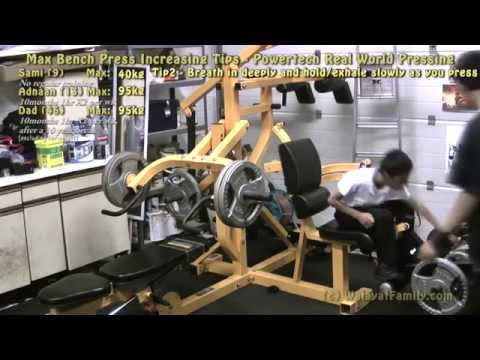 Max Bench Press Increasing Tips - Powertech Real World Pressing