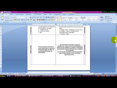 Formatos para crear una Situacion de aprendizaje y un diagnostico