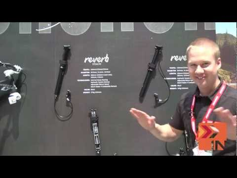 SRAM Rockshox Reverb Seat Post 2013 Interbike - Bike Insiders - dropper seat post