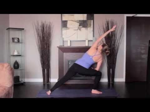 Yoga Extended Side Angle Left and Right
