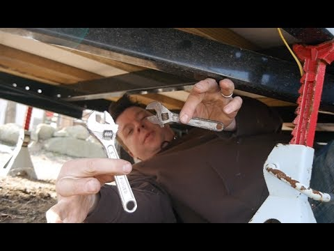 Preparing Your Tiny House Trailer for Travel- Safety Tips (rvs, homemade campers)