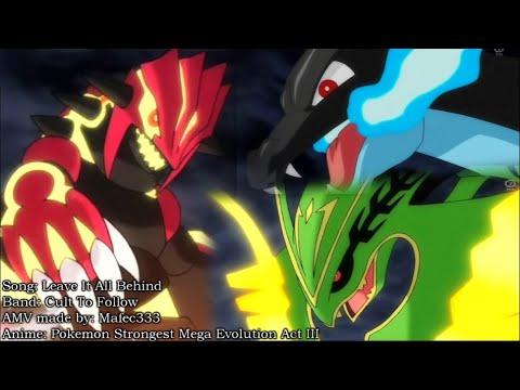 Primal Groudon vs Mega Charizard vs Rayquaza vs Primal Kyogre - AMV 720p