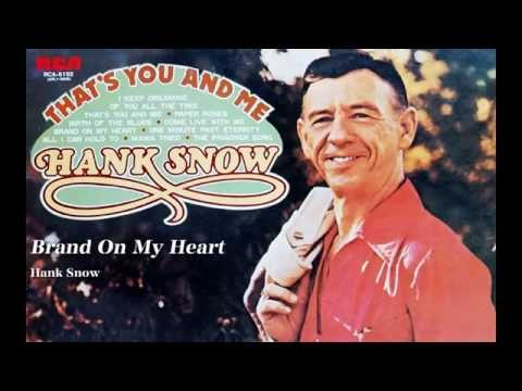 Snow Hank - Teardrops In My Heart