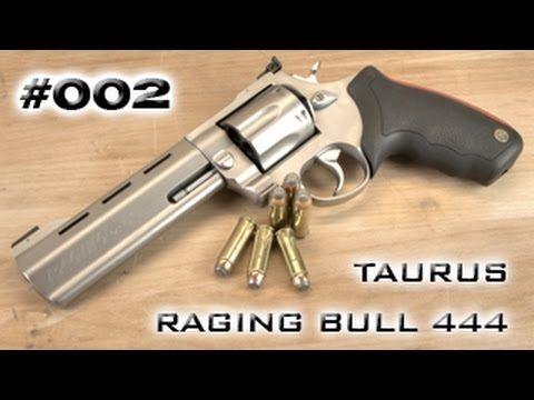 #002 - Taurus Raging Bull 444 - Review