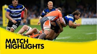 Bath Rugby v Newcastle Falcons - Aviva Premiership Rugby 2016-17